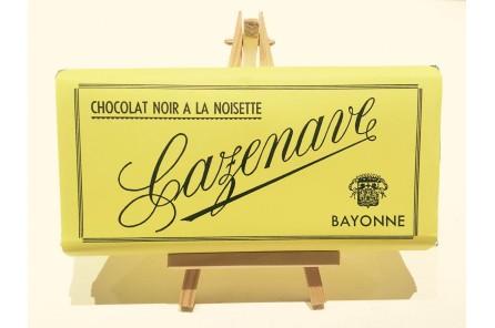 Chocolat noir noisettes - 250 gr.