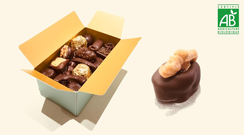Chocolats certifiés BIO